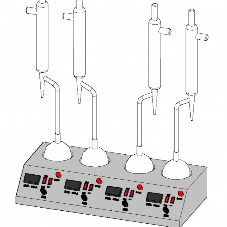 北京  六联石油产品水分仪(蒸馏法)厂家