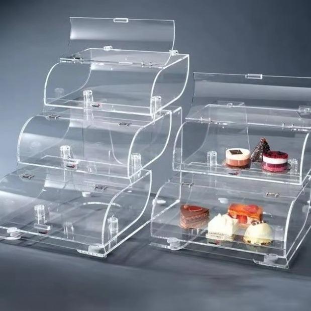 安博朗有机玻璃亚克力制品及加工亚克力展示架亚克力盒子台签台卡