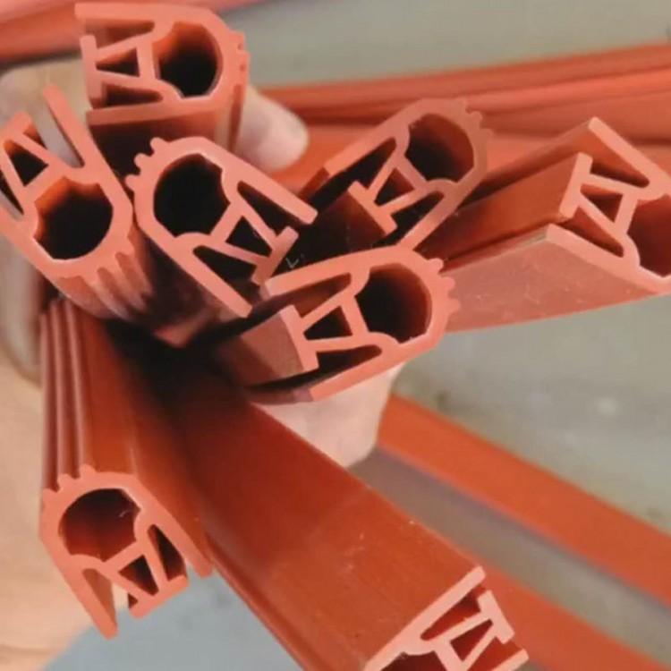厂家直销9字硅胶条耐高温橡胶条硅胶e型密封条