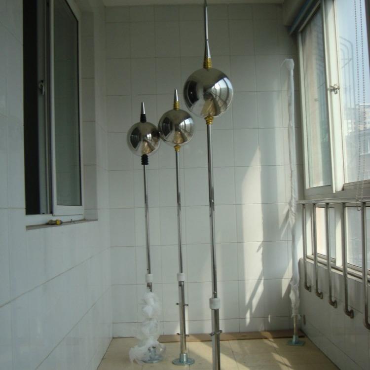 避雷针,玻璃钢避雷针生产厂家,不锈钢避雷针 独立避雷针 升降避雷针SENVM-B5玻钢针
