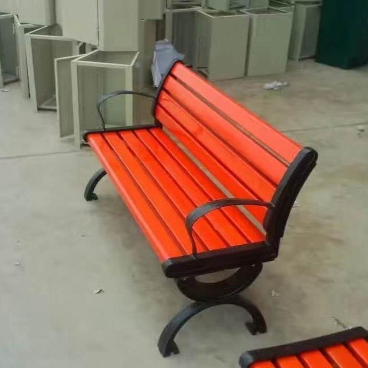 木质公园椅  公交车站椅子 公共排椅  机场椅厂家直销