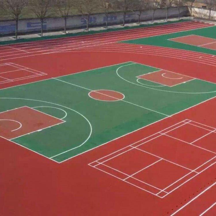 滨州设计建造塑胶篮球场,硅pu篮球场,塑胶网球场 羽毛球场地铺装建设 篮球场地胶 篮球场地坪,篮球场塑胶
