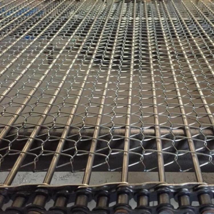 不锈钢链条网带不锈钢网链304金属网带长城网链网带不锈钢网带