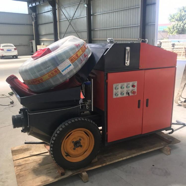 厂家直销 电启动混凝土输送泵,全自动混凝土输送泵,煤矿混凝土输送泵 正价批发