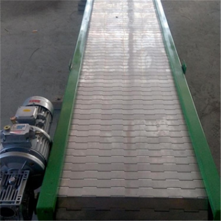 厂家直供 不锈钢食品链板输送机  饮料流水线输送机 定制输送机