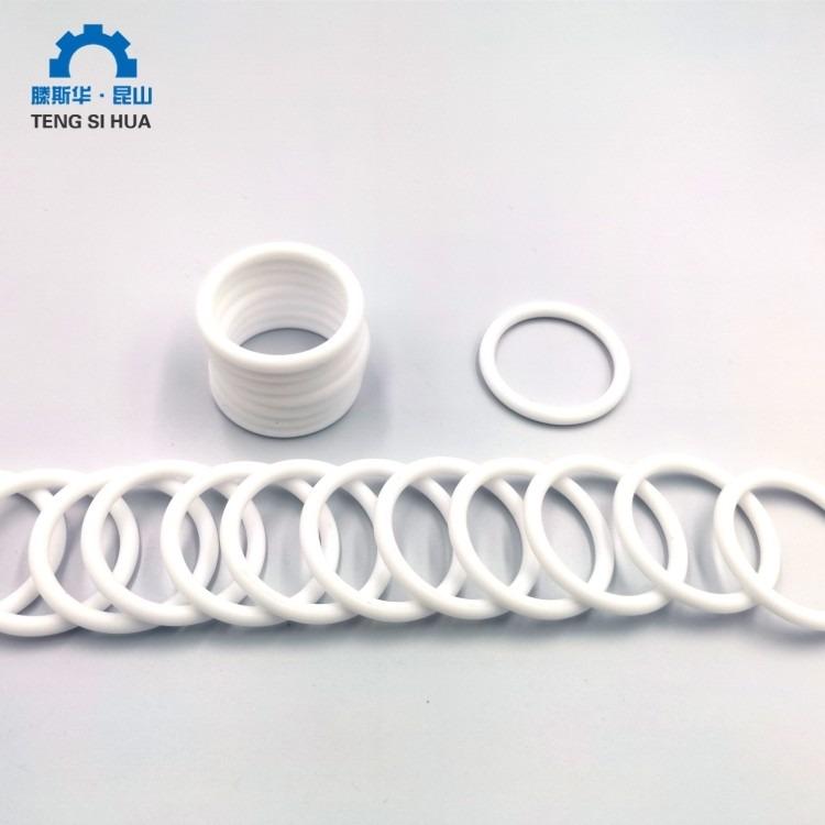 四氟喷涂O型圈 橡胶表面喷涂PTFE密封圈 聚四氟乙烯喷涂密封圈 高弹性