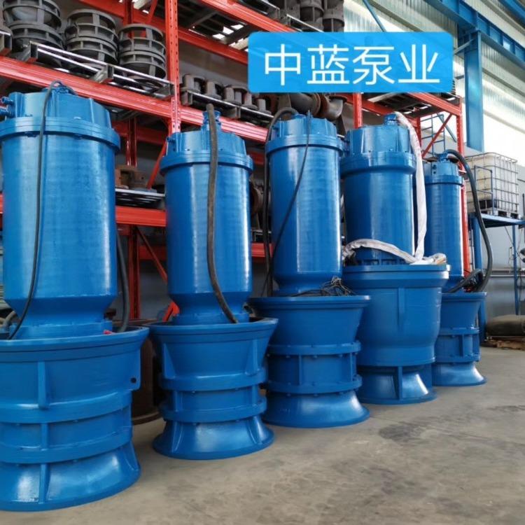 大流量潜水轴流泵 专业潜水泵生产厂家
