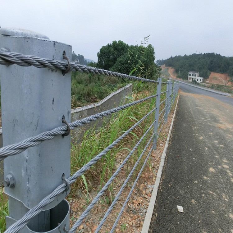 贵阳厂家供应 绳索护栏   桥梁绳索护栏   不锈钢绳索护栏  公路绳索护栏  防撞绳索护栏规格齐全