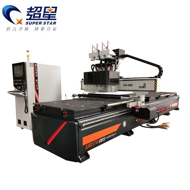 超星数控双工位开料机 木工下料机 全屋定制木工开料机价格