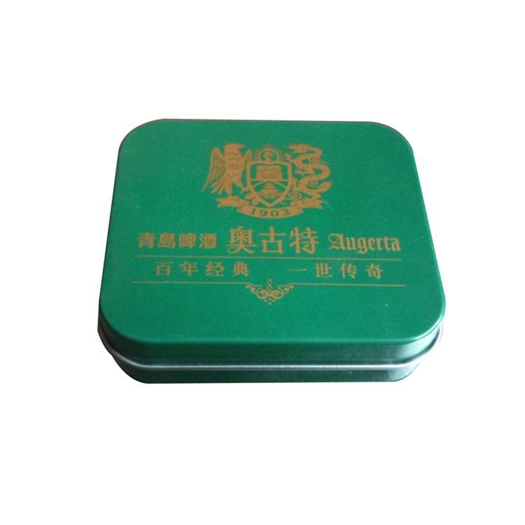 铁盒子生产加工佛山厂家订制卡片铁盒两片拉伸盒