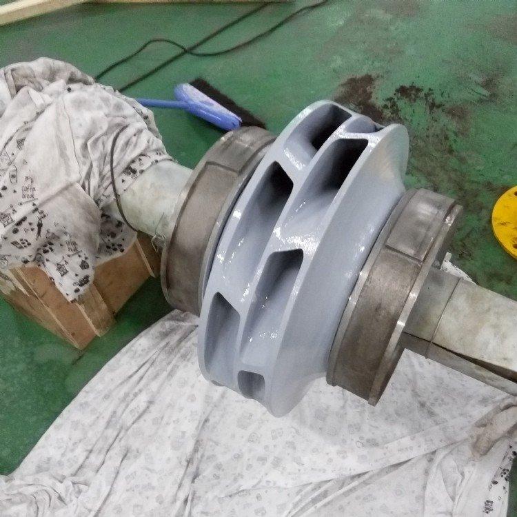 渣浆泵维修FGD脱硫泵磨损