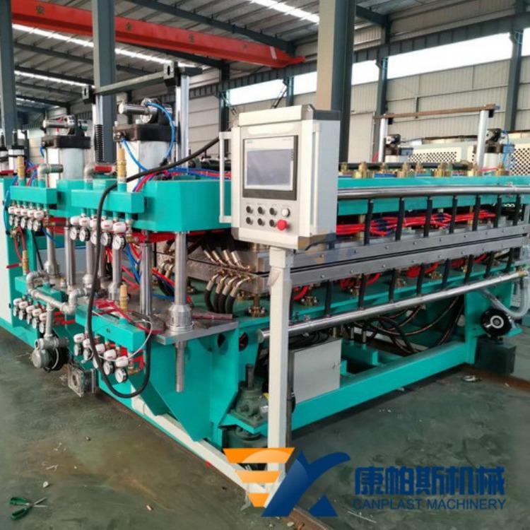 康帕斯机械新型零排放环保产品PP瓦楞板中空垫板设备