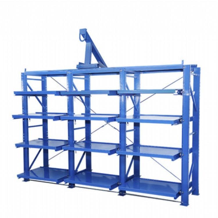 标准重型模具架 安徽带天车模具架 衡阳抽屉式模具存放架厂家