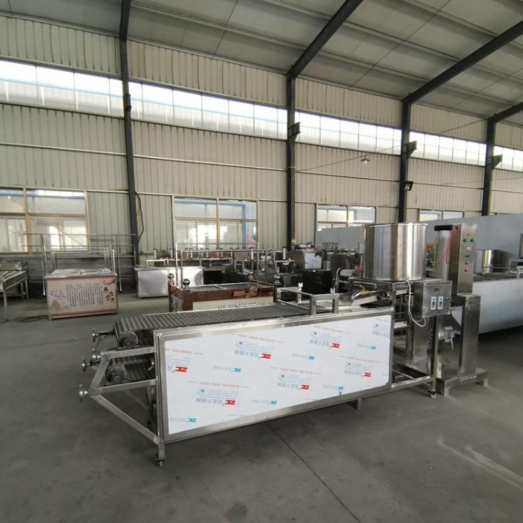 现货豆腐皮机大型全自动豆腐皮机器鑫聚出售全自动豆腐皮机腐皮机生产厂家