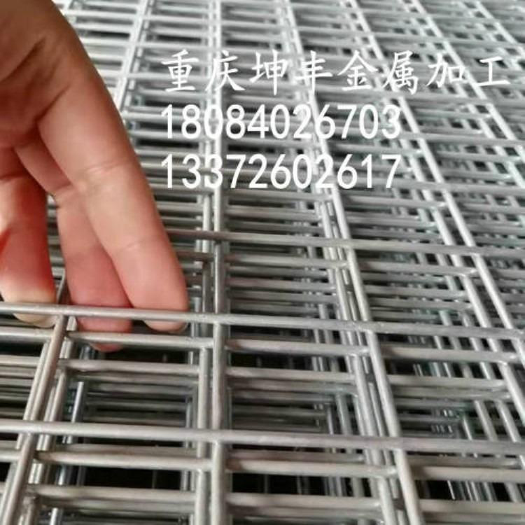 坤丰 外墙电焊网 篮球场铺地电焊网 100-200mm孔径电焊网