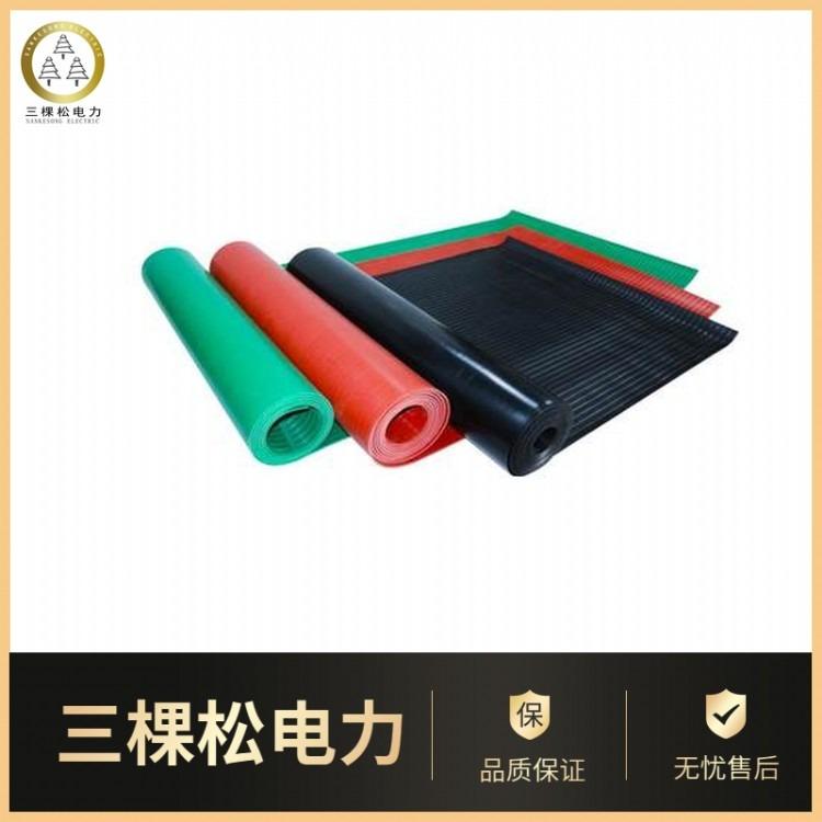 优质红色绝缘胶垫 5mm绝缘胶垫长度 定制多种规格