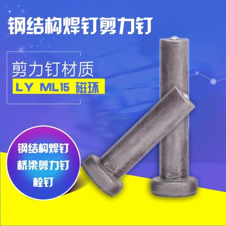 厂家直销钢结构圆柱头焊钉M19 钢模板焊钉栓钉剪力钉