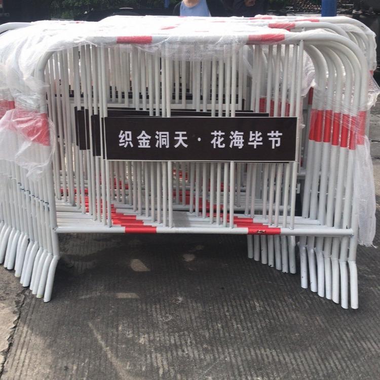 贵州惠水厂家供应 铁马护栏  市政铁马护栏  移动铁马护栏  不锈钢铁马护栏  复合管铁马护栏