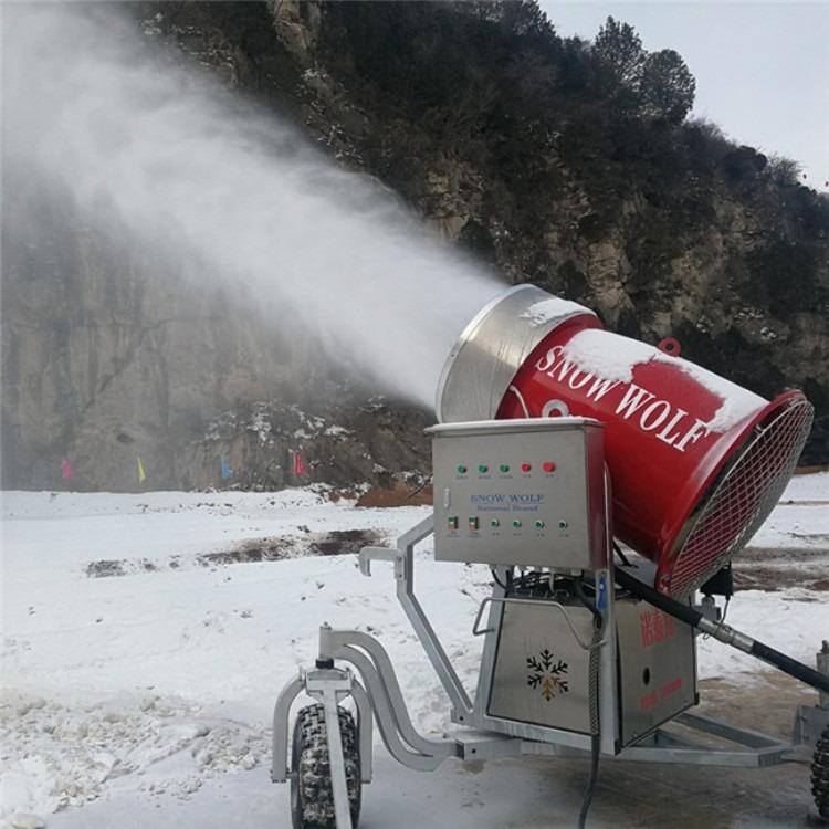 国产造雪机多少钱一台 一小时出雪量高制雪机