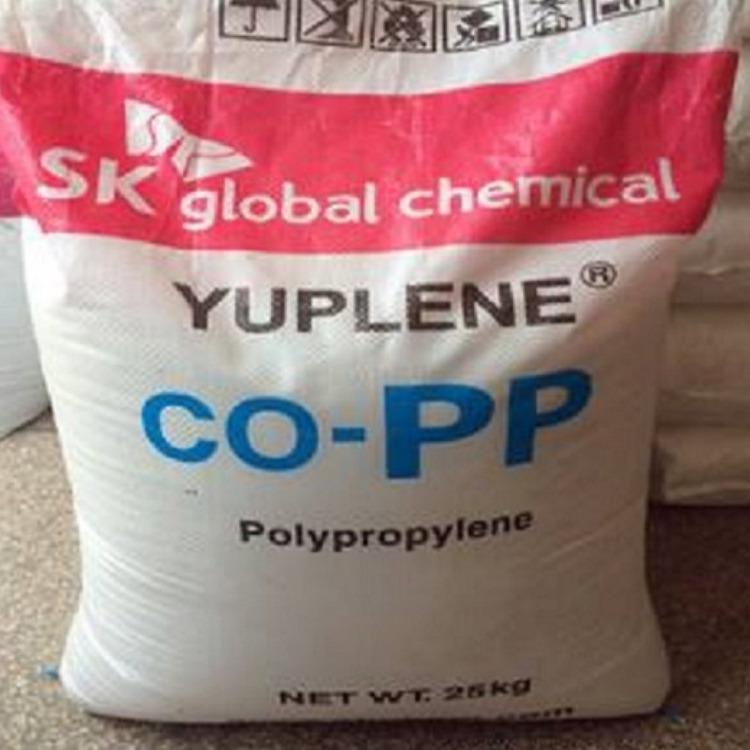 高透明、高光泽聚丙烯pp原料R370Y韩国sk注塑级高流动 pp塑料原材料