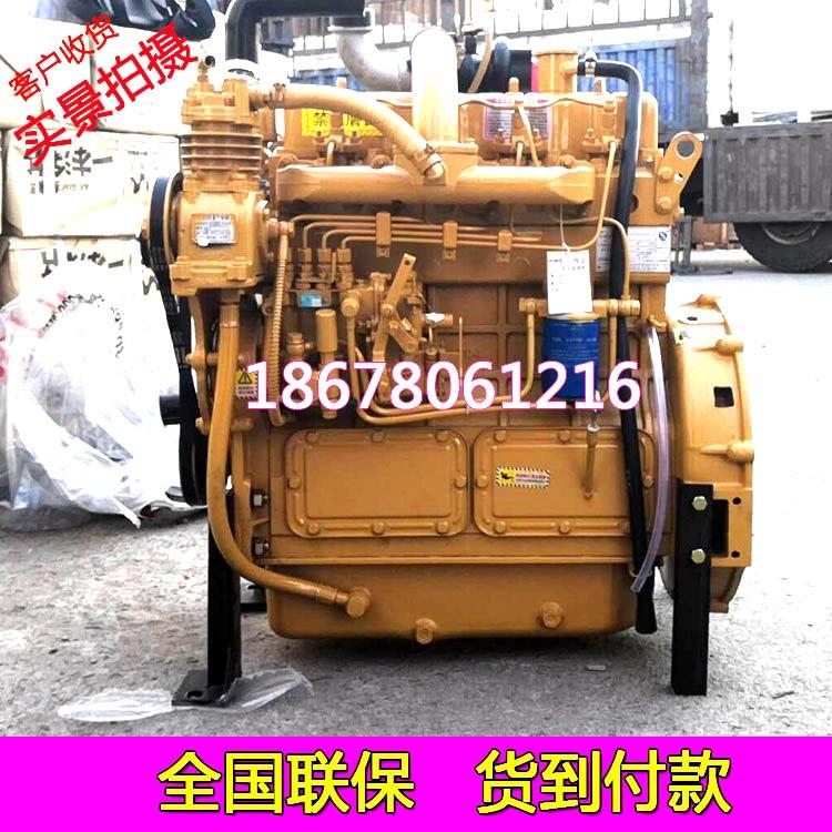 潍坊潍柴100马力2000转柴油机6105发动机带离合器皮带轮耗油量送货上门