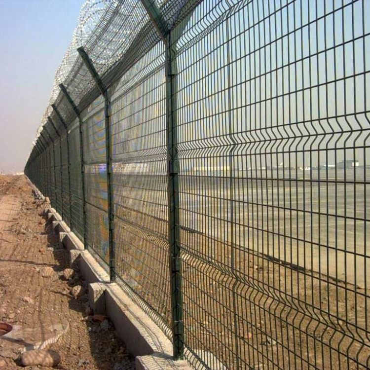 徐州 世腾  双边丝护栏围墙隔离防护网铁丝网围栏果园室外钢丝高速公路护栏网
