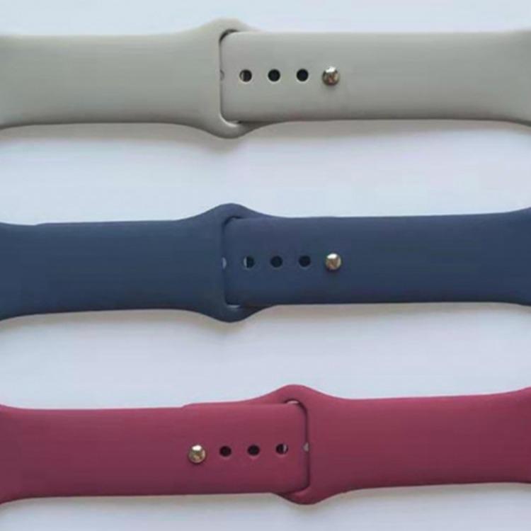 厂家生产 适用苹果表带apple watch表带  硅橡胶制品 手表带 儿童手表带 iwatch硅胶制品厂家
