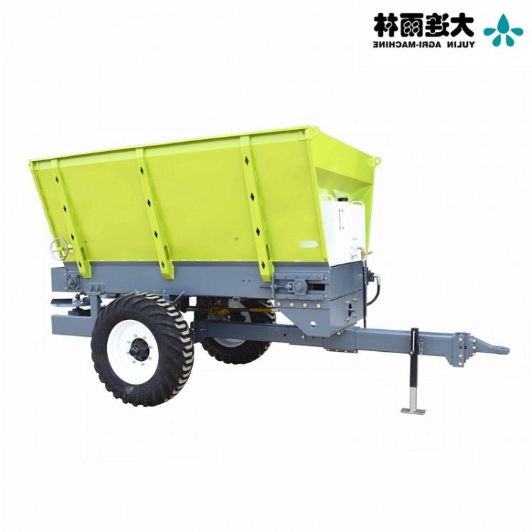 两甩盘的撒肥机 生产有机肥撒肥车厂家 四轮抛粪机 有机肥撒肥机