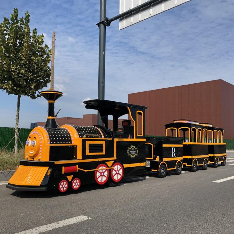 兒童觀光小火車黑色款 向快樂出發