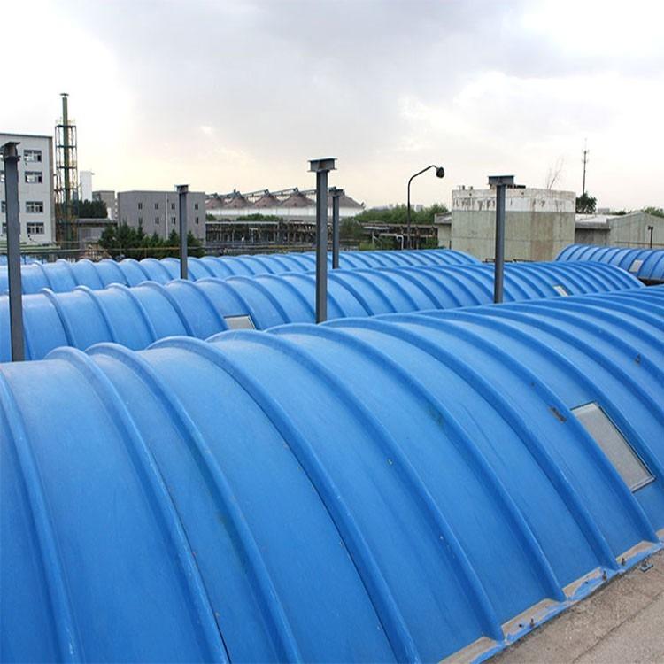 玻璃钢拱形盖板 污水池除臭盖板 玻璃钢井盖生产厂家 来图定制