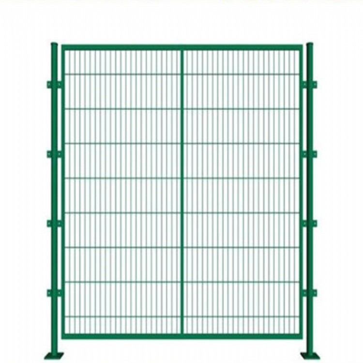 江苏常州边框护栏 公路铁路护栏 铁丝网 小区围栏栅 栏铁丝网双边丝护栏网