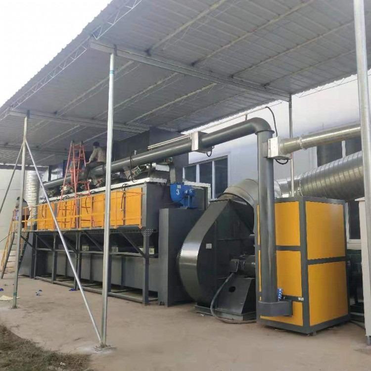 催化燃烧废气处理设备 吸附脱附处理设备 催化燃烧设备有机废气治理