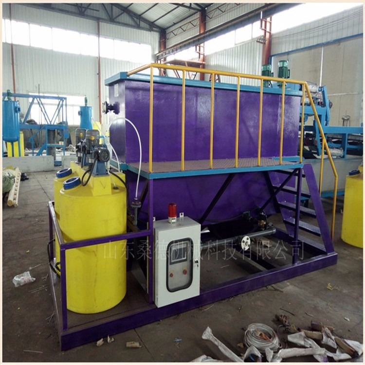 桑德 山东日照斜板斜管沉淀器 斜管沉淀池 电镀污水处理设备厂家