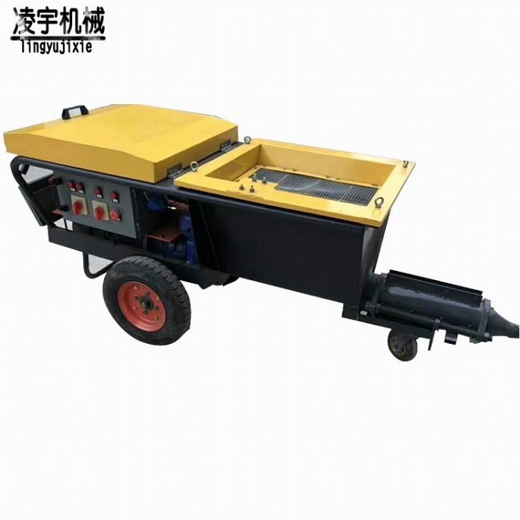 【凌宇】多年生产加工乳胶漆真石喷涂机,柱塞式喷涂机,德式喷涂机 品质保证