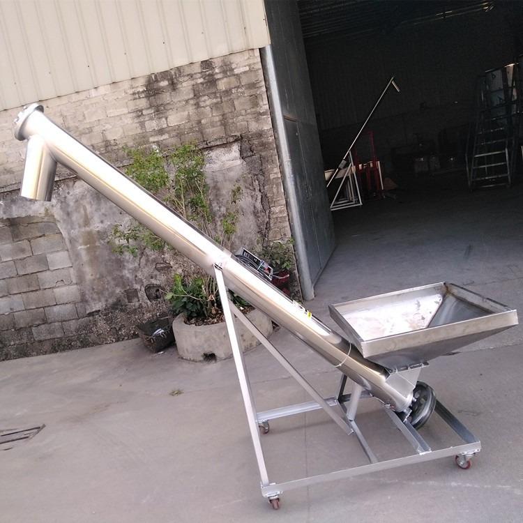 螺杆上料机 4米螺旋式上料机 佛文丰 佛山塑料机械螺杆加料机生产厂家
