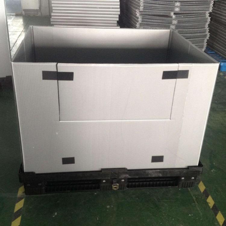 汽车配件厂中空板周转箱