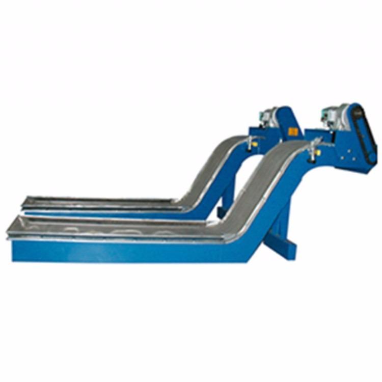 江苏客户选购磁性排屑机   强磁性提升排屑机