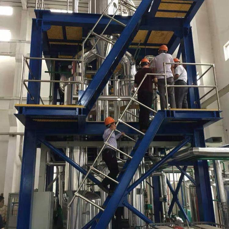 处理三效一吨蒸发器2000单效蒸发器 二手单效蒸发器