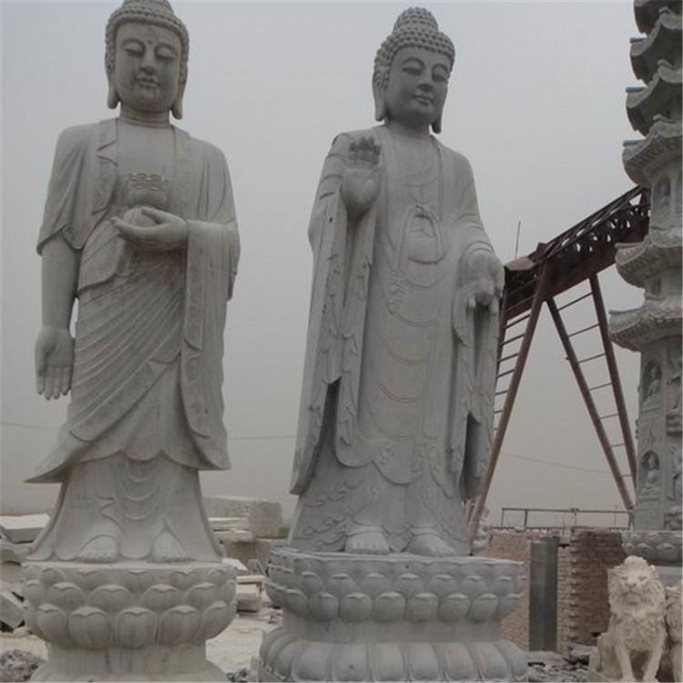 弘正园林雕塑 站佛 站观音像 园林雕塑摆件 厂家直销