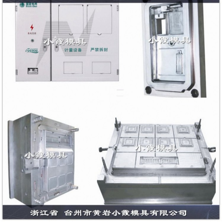专做塑胶新标准单相八电表箱注塑模具