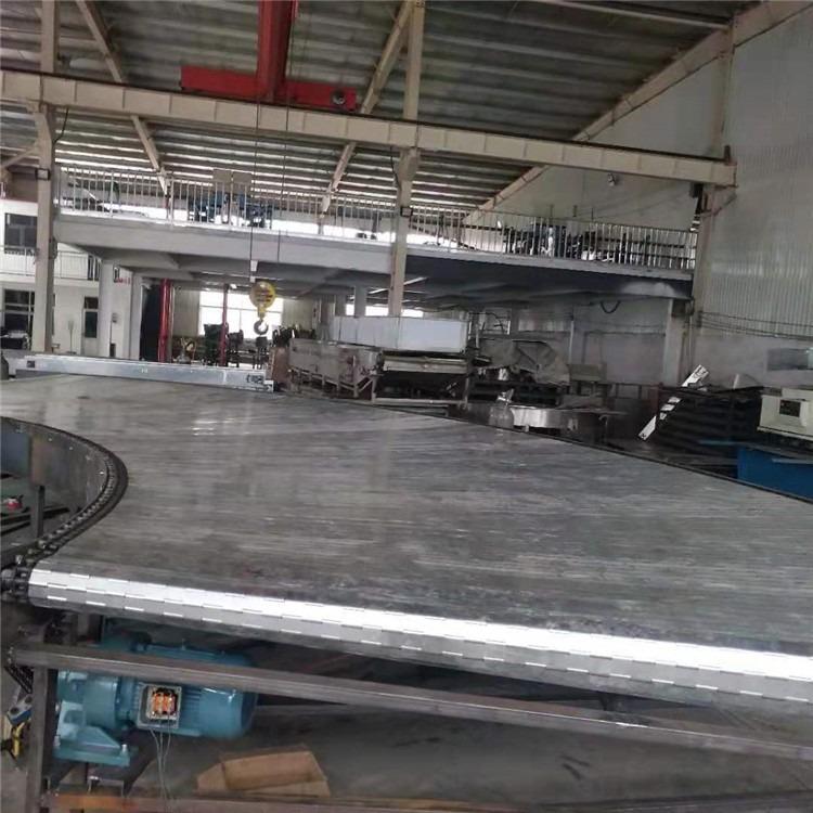专业生产自动化设备 工业流水线输送机 不锈钢链板输送机