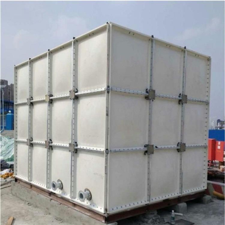 玻璃钢水箱消防水箱蓄水池SMC模压水箱板方形保温玻璃钢消防水箱