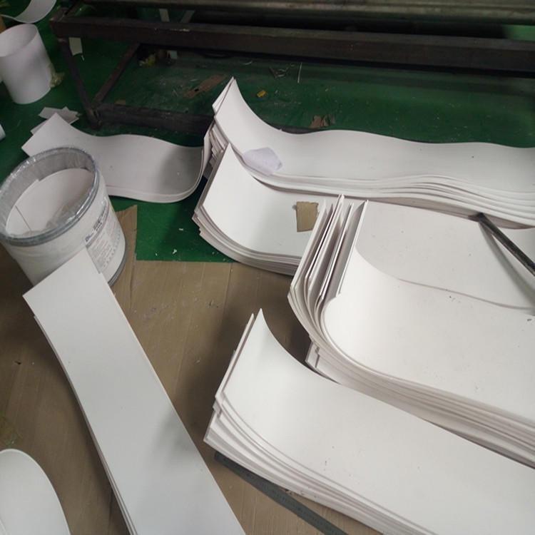 西安电厂用纯料四氟板 10mm厚加厚四氟板厂家 耐腐蚀环保PTFE四氟板一平米价格