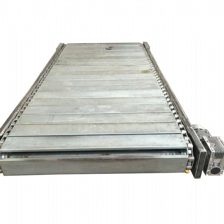 供应链板输送机 不锈钢重型输送机  机械传送运输设备  扣板承重输送机