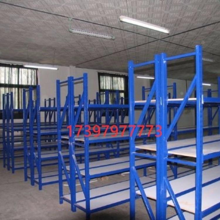 中型货架置物架多层仓储货架展示架仓库置物架自由组合储物货物铁架子