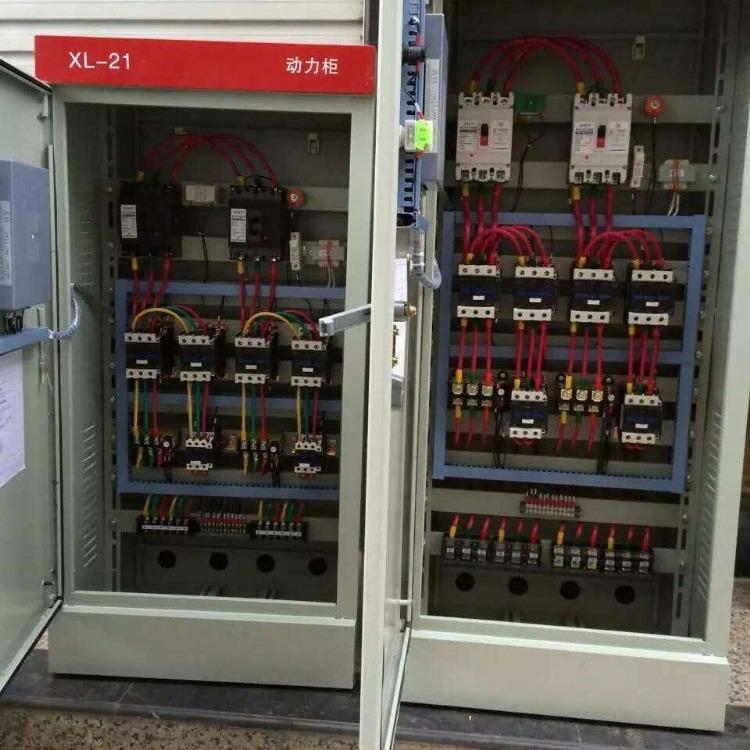 QEK-2XR-Y-15星三角降压控制柜 消防水泵控制柜 消防双电源控制系统