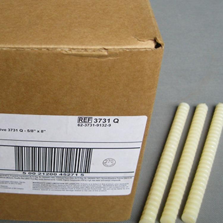 3M3748Q灰白色5KG箱热熔胶条线圈的固定
