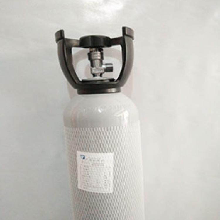 标准气二氧化硫4升石油化工产品质量检测标准气8升铝合金瓶标准气充换气