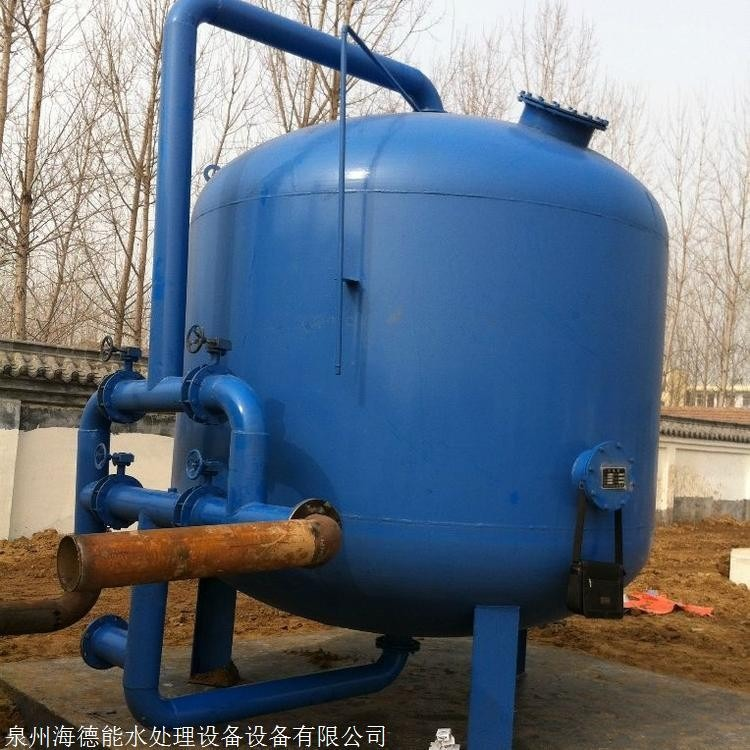 多介质石英砂过滤器定制碳钢石英砂过滤器活性炭介质过滤器 碳钢过滤器