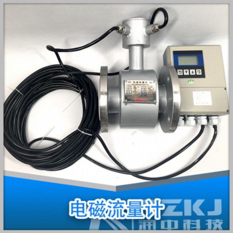 润中仪表RZ-LD 污水电磁流量计国产 污水电磁流量计价格 污水管道式流量计 专业生产直销